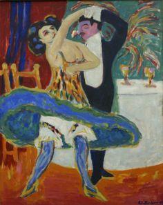 Ernst Ludwig Kirchner, Varieté | Flickr - Photo Sharing!