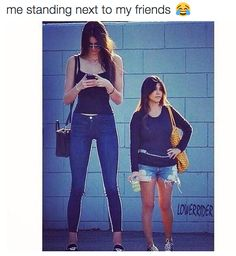 "Going out in public. | 23 Pictures People Over 5'5"" Will Never Understand"