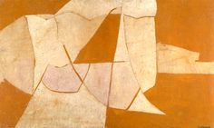 Sergue Poliakoff 1948 - Space in orange