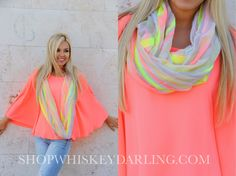 Shopwhiskeydarling.com ❤️ boutique clothing. Coral top. Spring trends. Fashion. Spring fashion.