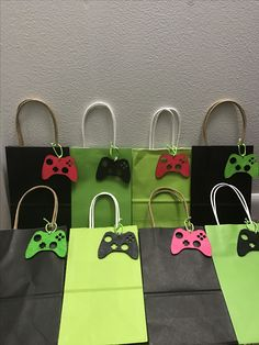 Xbox themed party favor gift bags