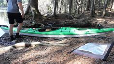 Packing a kayak for multi-day camping trips (with portaging)