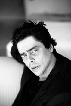 Benicio del Toro. One of the most attraktive men in my opinion.