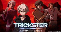 Imagen promocional para la segunda temporada del Anime Trickster.
