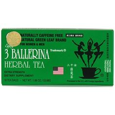 One Bag 3 Ballerina Tea Extra Strength Dieters Drink China Slim Tea, Ballerina Diet, Asian Diet, Slim Diet, Weight Loss Tea, Weight Loss Supplements, Herbal Tea, Drinking Tea, Herbalism