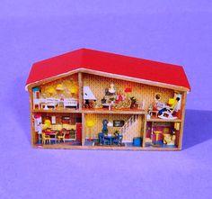 Image Detail for - VINTAGE 1970  s LUNDBY DOLLS HOUSE MINIATURE TOY DOLLSHOUSE | eBay