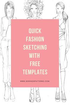 fashion design sketches