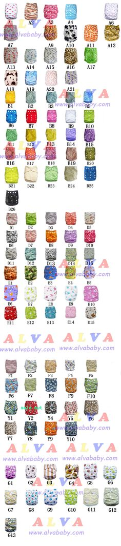 For those who do/ plan on using cloth diapers, I just got a tip for Alva diapers. They are around $5 a piece, as opposed to the roughly $20 some of the bigger brands charge.