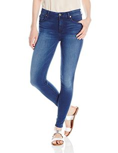 1742b3b65a3 7 For All Mankind Women's Mid Rise Ankle Skinny Jean, Slim Illusion/Luxe/