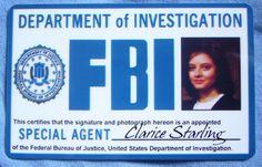 Clarice Starling's FBI Credentials