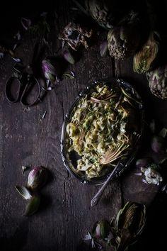 Artichoke Tagliatelle (#vegan or #vegetarian) and on the Creative Process   Hortus Natural Cooking