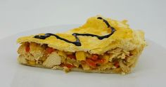 Placinta din Piept de Pui cu Praz , Ardei si Porumb Sandwiches, Tacos, Mexican, Ethnic Recipes, Food, Essen, Meals, Paninis, Yemek