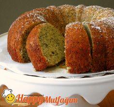 Günün Tarifi: Haşhaşlı Limon Sulu Kek   http://www.happycenter.com.tr/yemek-tarifleri/hashasli-limon-sulu-kek/