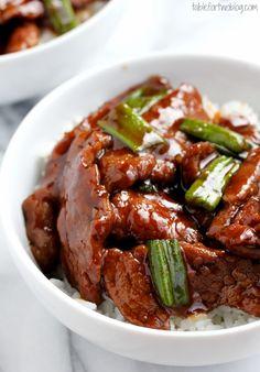 Yummy Recipes: Mongolian Beef recipe