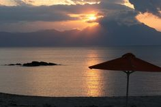 Sunrise over Mount Athos - Sarti - Chalkidiki/Greece