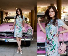 Viktoriya Sener - 6ks Dress, River Island Bag, Mango Pumps, Zara Necklace, Triwa Watch - TAKE ME AWAY
