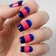 KBShimmer-Early-Summer-2014-Creme-Colorblock-Nail-Art
