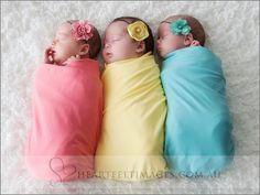 Cute photo for babies, maybe friends that have kids around the same time or multiples.
