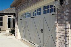 carriage house garage doors   Carriage House Steel Garage Doors - Windows and Doors - DIY Chatroom ...