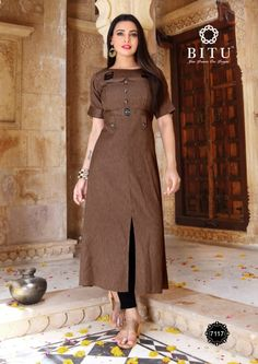 Buy Bitu Mayrti Designer Soft Cotton Readymade Straight Kurtis Collection at Wholesale Rate direct from Ethnic Export. New Kurti Designs, Simple Kurta Designs, Kids Blouse Designs, Kurta Designs Women, Salwar Designs, Kurti Designs Party Wear, Designs For Dresses, Plain Kurti Designs, Mehndi Designs