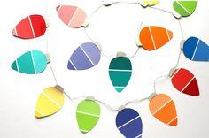 paint-chip-Christmas-garland-great-kids-craft