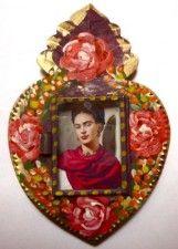 Frida Kahlo Painted Nichos
