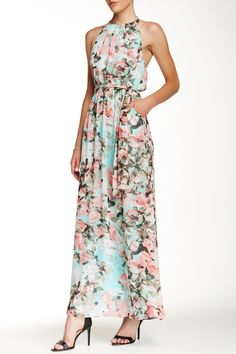 2afdfa613f7037 Halter Maxi Dress by Jessica Simpson on  nordstrom rack Halter Maxi Jurken