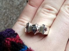 d20 Engagement Ring