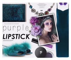 """Purple Lipstick-Yoins"" by katarina-blagojevic ❤ liked on Polyvore featuring beauty, Miu Miu, Lancôme, Revlon, Sabbadini, yoins, yoinscollection and loveyoins"