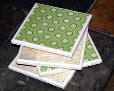 How to Make Ceramic Coasters - DIY Handmade Coasters - Home Decor and DIY Handmade Gift Idea