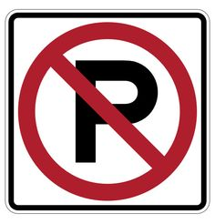 No Parking Permitted Sign - 1 Sign