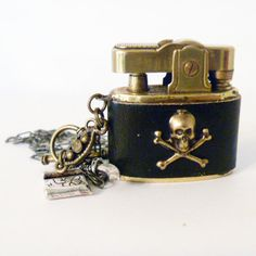 Pirate charm lighter necklace