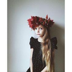 • k i r s t e n • @kirstenrickert First leaf crown ...Instagram photo