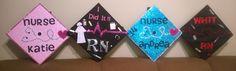 Nursing Graduation caps for Nursing school Rn