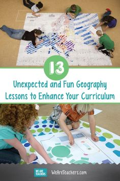 13 Unexpected and Fun Geography Lessons to Enhance Your Curriculum. Enhancing your geography lessons are a great idea because you can help your students travel around the world without leaving the classroom. Geography Activities, Geography Lessons, Teaching Geography, World Geography, Social Studies Projects, 6th Grade Social Studies, Teaching Social Studies, History Education, Teaching History