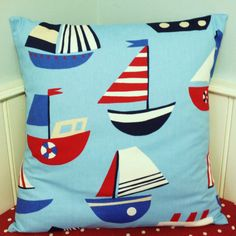 Pillow Cushion Cover Large  24 x 24   Kids by AllTheTrimmingsUK, £17.50