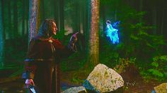 """Rumple: """"You took him from me!!"""" Blue Fairy: """"You drove him away..."""""""
