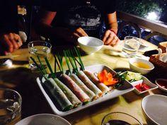 Hanoy, vietnam. Some spring rolls.