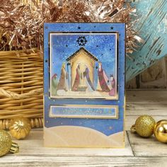 Christmas Themes, Christmas Cards, Hunkydory Crafts, True Meaning Of Christmas, Ready To Pop, Card Making Inspiration, Paper Crafts, Seasons, Club
