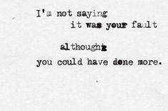 No, not your fault at all.... Ok, yes! haha :) Great Song.