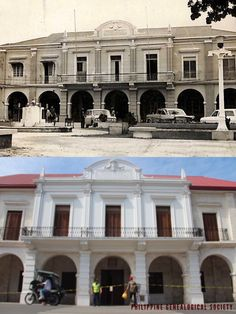 Dito, Noon: Bohol Provincial Capitol, Tagbilaran, x — The old Bohol Provincial Capitol along Bohol Circumferential Road in Tagbilaran is now the National Museum Bohol. Philippine Houses, Neoclassical Architecture, Bohol, Filipina, Urban Planning, National Museum, Philippines, 1960s, Cities