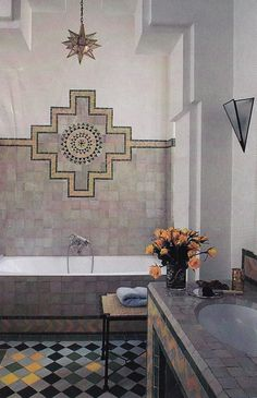 Modern Moroccan Bathroom Design 16 dreamy celebrity bathrooms | turquoise, blue tiles and hue