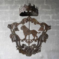 Coat of Arms-Sienna, Italy 17th C