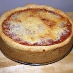 Chicago Deep Dish Pizza - the best! Deep Dish Pizza Dough Recipe, Chicago Pizza Dough Recipe, Pizza Recipes, Cooking Recipes, Cat Recipes, Chicago Style Pizza, Homemade Pickles, Homemade Recipe, Good Pizza