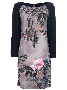 ISOLA MARRAS Floral Loose Fit Dress. $414 on farfetch.com.  Designer may be Spanish?
