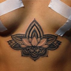 I really like the lotus flower design just not the placement.