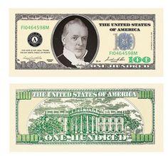 100 DOLLAR BILLS, FAKE ONE HUNDRED DOLLAR BILLS