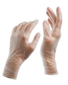 Vinal™ Disposable Non Latex Food Grade Housekeeping Gloves 3.5 Mil Medium