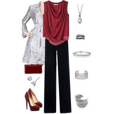Country Club Dinner, created by pms on Polyvore PaulaMDietrich