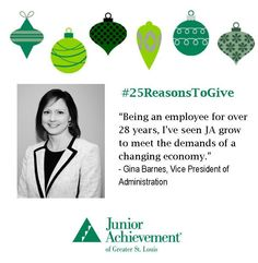 Reason #19: #JA is constantly evolving to meet the demands of a new economy!  #25ReasonsToGive